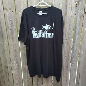 The Rodfather tee 💯 cotton size 3XL